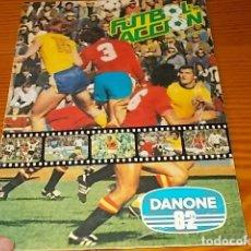 Álbum de fútbol completo: ÁLBUM DE CROMOS FÚTBOL EN ACCIÓN. DANONE 82 . COMPLETO. 96 CROMOS. 1981. UNA JOYA!!!. Lote 181438253