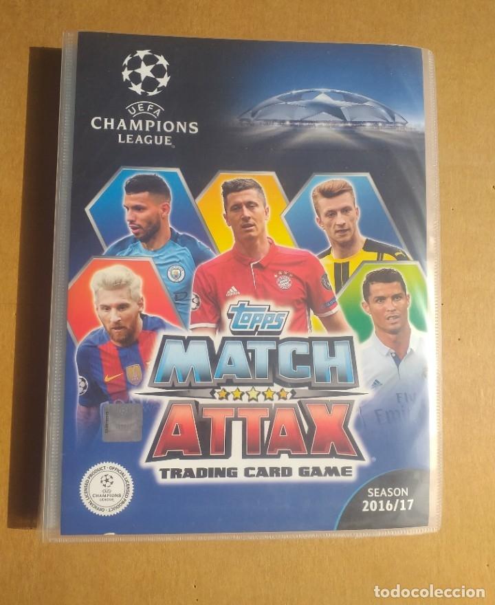Match Attax UEFA Champions League 2016//17 Aubameyang Edición Limitada De Bronce