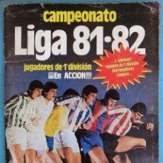 Álbum de fútbol completo: ALBUM FUTBOL LIGA 1981 1982 81 82 , EDICIONES ESTE , COMPLETO , ORIGINAL , H1. Lote 181594260
