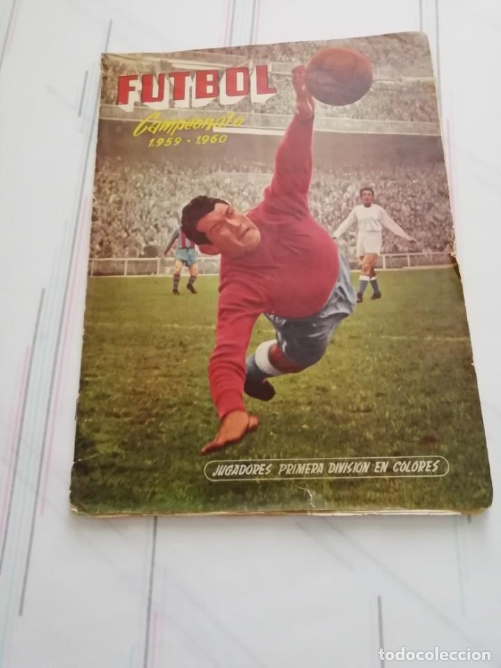 ALBUM FUTBOL CAMPEONATO 1959-60 EDICIONES FERCA ( VER DESCRIPCION ) (Coleccionismo Deportivo - Álbumes y Cromos de Deportes - Álbumes de Fútbol Completos)