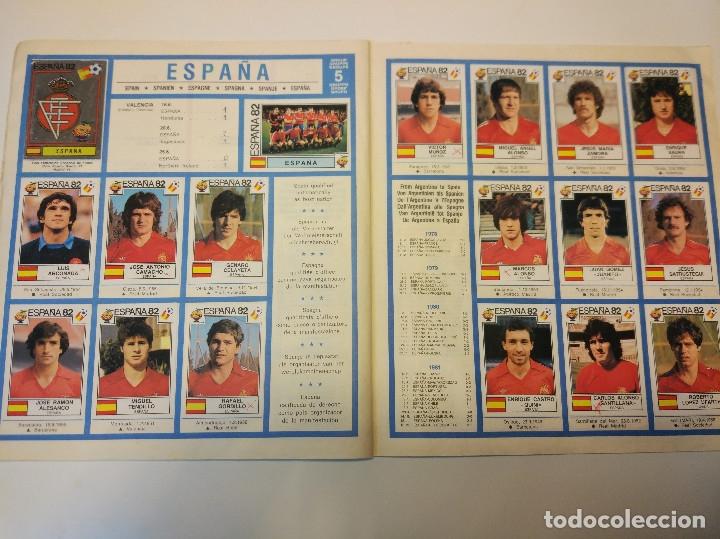 Álbum de fútbol completo: España 82 World Cup completo. Regalo France 98 World Cup incompleto - Foto 3 - 182117187