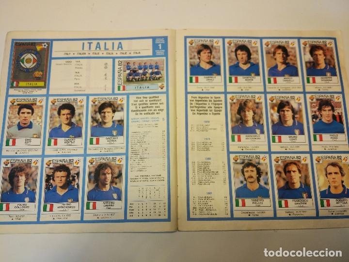Álbum de fútbol completo: España 82 World Cup completo. Regalo France 98 World Cup incompleto - Foto 4 - 182117187
