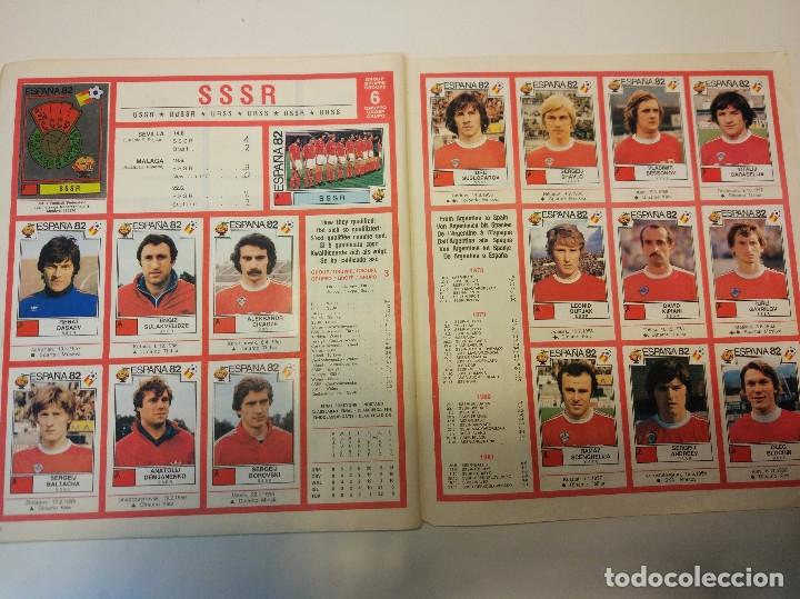 Álbum de fútbol completo: España 82 World Cup completo. Regalo France 98 World Cup incompleto - Foto 6 - 182117187