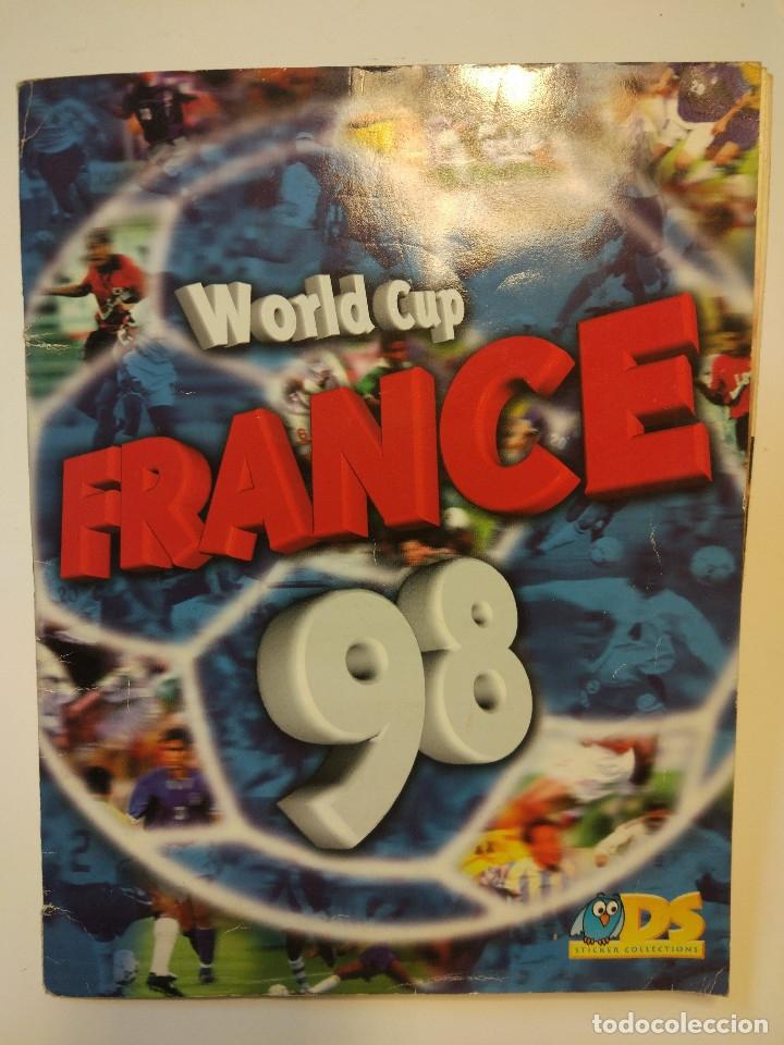 Álbum de fútbol completo: España 82 World Cup completo. Regalo France 98 World Cup incompleto - Foto 7 - 182117187