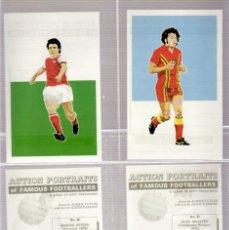 Álbum de fútbol completo: ACTION PORTRAITS FAMOUS FOOTBALL. Lote 182505518