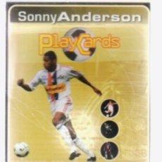 Álbum de fútbol completo: FRANCE PLAYCARDS 2001 PANINI. Lote 182505573