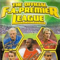 Álbum de fútbol completo: PREMIER LEAGUE 2003 MERLIN. Lote 182505650