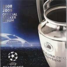 Álbum de fútbol completo: UEFA CHAMPIONS LEAGUE 2009. Lote 182505660