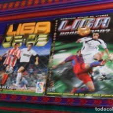 Álbum de fútbol completo: LIGA ESTE 06 07 2006 2007 COMPLETO MUCHOS DOBLES Y COLOCA. REGALO ESTE LIGA 2002 2003 INCOMPLETO.. Lote 182658633