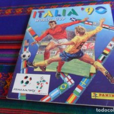 Álbum de fútbol completo: ITALIA 90 WORLD CUP COMPLETO PANINI. MUNDIAL DE FÚTBOL 1990. DIFÍCIL.. Lote 182658910