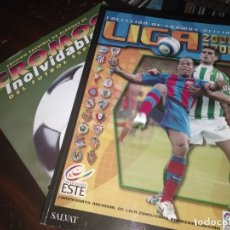 Álbum de fútbol completo: ALBUM ED. ESTE 2005-06 ( FACSIMIL SALVAT + FASCÍCULO) . Lote 182791616