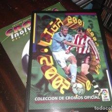 Álbum de fútbol completo: ALBUM ED. ESTE 2001-02 ( FACSIMIL SALVAT + FASCÍCULO) . Lote 182791935