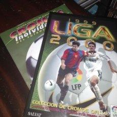 Álbum de fútbol completo: ALBUM ED. ESTE 1999-2000 ( FACSIMIL SALVAT + FASCÍCULO) . Lote 182792081