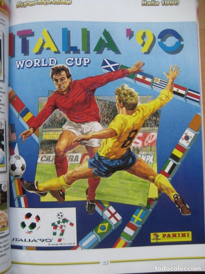 1990 COPA DEL MUNDO - LIBRO - ALBUM MUNDIAL DE FUTBOL ITALIA 90 - PANINI (Coleccionismo Deportivo - Álbumes y Cromos de Deportes - Álbumes de Fútbol Completos)