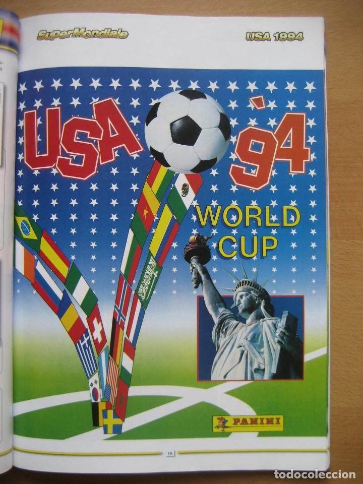 1994 COPA DEL MUNDO - LIBRO - ALBUM MUNDIAL DE FUTBOL USA 94 - PANINI (Coleccionismo Deportivo - Álbumes y Cromos de Deportes - Álbumes de Fútbol Completos)