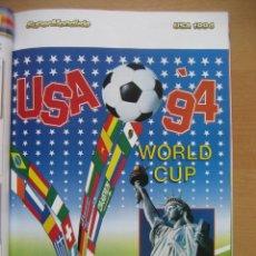 Álbum de fútbol completo: 1994 COPA DEL MUNDO - LIBRO - ALBUM MUNDIAL DE FUTBOL USA 94 - PANINI. Lote 182830842
