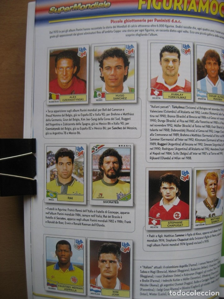 Álbum de fútbol completo: 1994 COPA DEL MUNDO - LIBRO - ALBUM MUNDIAL DE FUTBOL USA 94 - PANINI - Foto 7 - 182830842
