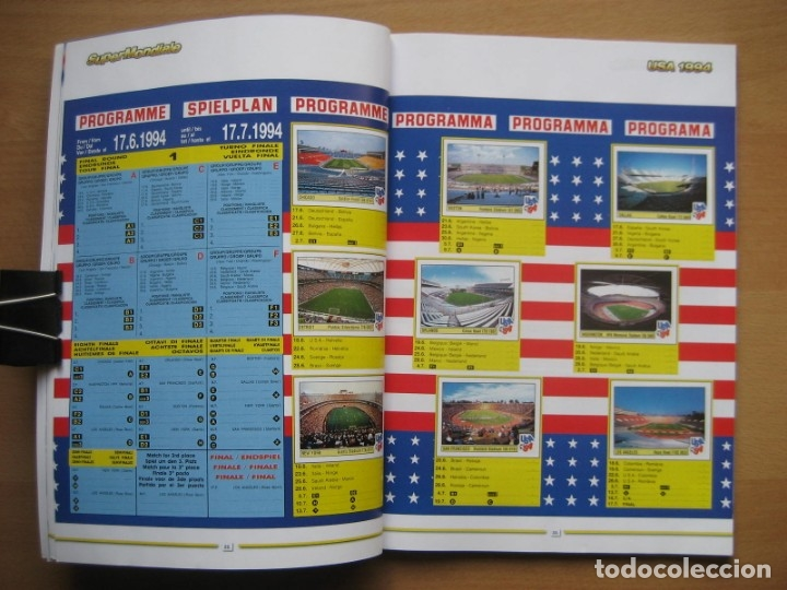 Álbum de fútbol completo: 1994 COPA DEL MUNDO - LIBRO - ALBUM MUNDIAL DE FUTBOL USA 94 - PANINI - Foto 8 - 182830842