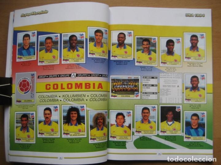 Álbum de fútbol completo: 1994 COPA DEL MUNDO - LIBRO - ALBUM MUNDIAL DE FUTBOL USA 94 - PANINI - Foto 9 - 182830842