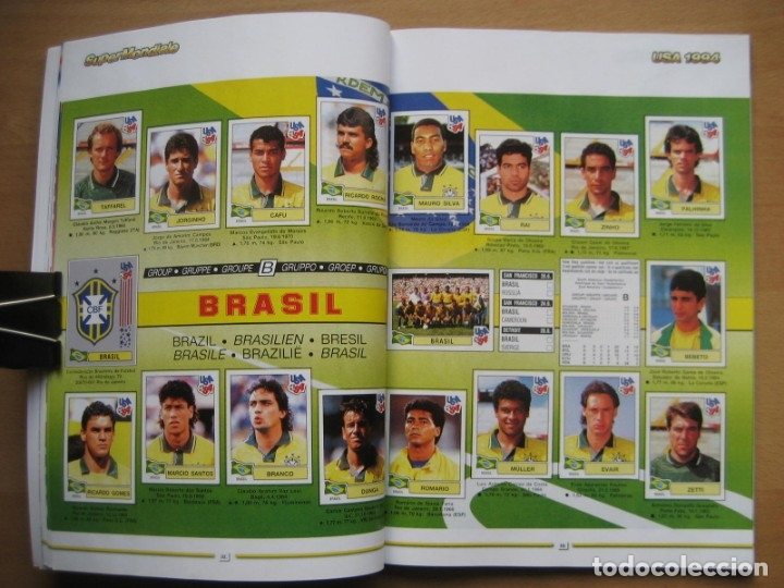 Álbum de fútbol completo: 1994 COPA DEL MUNDO - LIBRO - ALBUM MUNDIAL DE FUTBOL USA 94 - PANINI - Foto 10 - 182830842