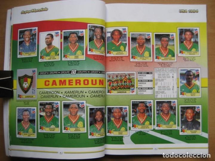 Álbum de fútbol completo: 1994 COPA DEL MUNDO - LIBRO - ALBUM MUNDIAL DE FUTBOL USA 94 - PANINI - Foto 11 - 182830842