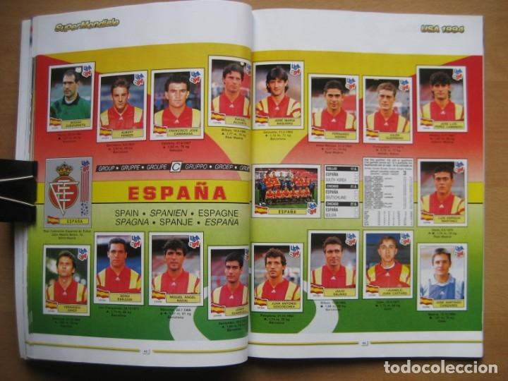 Álbum de fútbol completo: 1994 COPA DEL MUNDO - LIBRO - ALBUM MUNDIAL DE FUTBOL USA 94 - PANINI - Foto 13 - 182830842