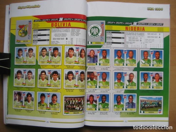 Álbum de fútbol completo: 1994 COPA DEL MUNDO - LIBRO - ALBUM MUNDIAL DE FUTBOL USA 94 - PANINI - Foto 14 - 182830842