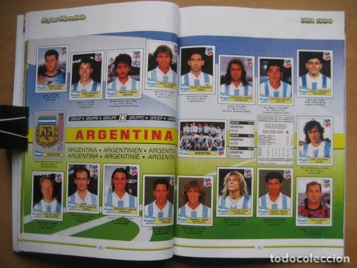 Álbum de fútbol completo: 1994 COPA DEL MUNDO - LIBRO - ALBUM MUNDIAL DE FUTBOL USA 94 - PANINI - Foto 15 - 182830842