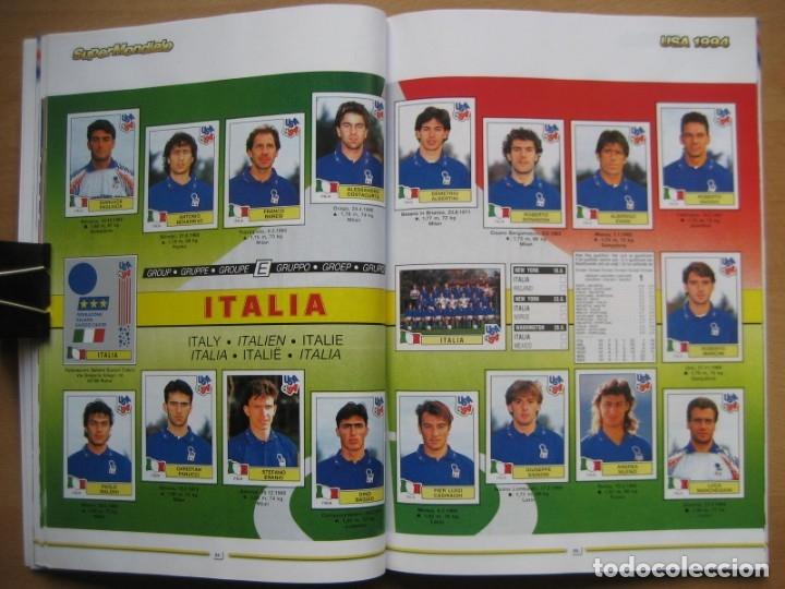 Álbum de fútbol completo: 1994 COPA DEL MUNDO - LIBRO - ALBUM MUNDIAL DE FUTBOL USA 94 - PANINI - Foto 16 - 182830842