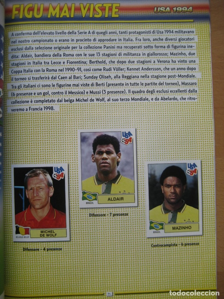 Álbum de fútbol completo: 1994 COPA DEL MUNDO - LIBRO - ALBUM MUNDIAL DE FUTBOL USA 94 - PANINI - Foto 18 - 182830842