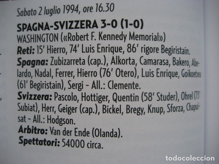 Álbum de fútbol completo: 1994 COPA DEL MUNDO - LIBRO - ALBUM MUNDIAL DE FUTBOL USA 94 - PANINI - Foto 23 - 182830842