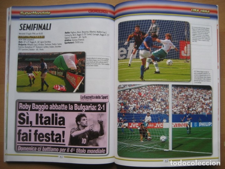 Álbum de fútbol completo: 1994 COPA DEL MUNDO - LIBRO - ALBUM MUNDIAL DE FUTBOL USA 94 - PANINI - Foto 26 - 182830842