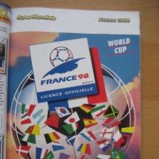 Álbum de fútbol completo: 1998 COPA DEL MUNDO - LIBRO - ALBUM MUNDIAL DE FUTBOL FRANCIA 98 - PANINI. Lote 182832222