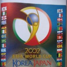 Álbum de fútbol completo: 2002 COPA DEL MUNDO - LIBRO - ALBUM MUNDIAL DE FUTBOL KOREA JAPON - PANINI. Lote 182832630