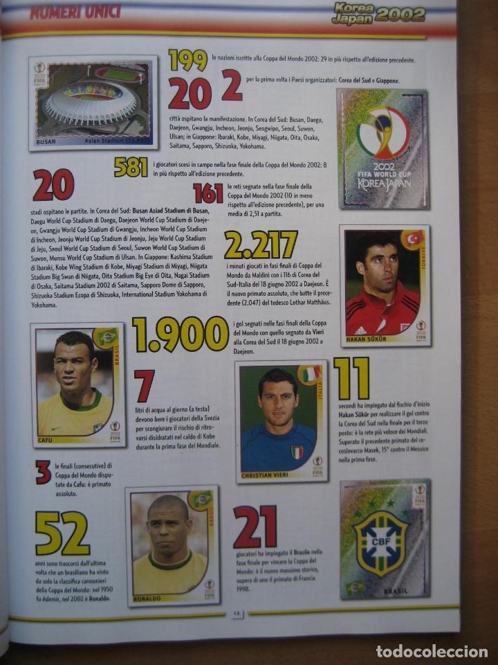 Álbum de fútbol completo: 2002 COPA DEL MUNDO - LIBRO - ALBUM MUNDIAL DE FUTBOL KOREA JAPON - PANINI - Foto 4 - 182832630