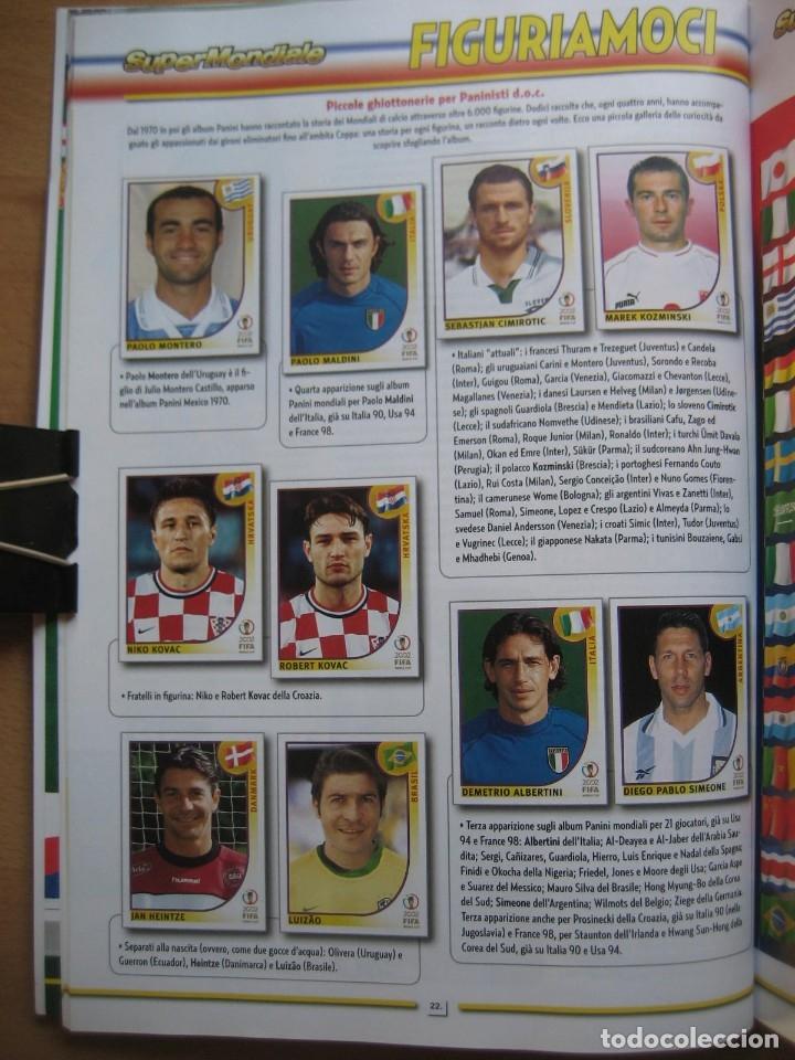 Álbum de fútbol completo: 2002 COPA DEL MUNDO - LIBRO - ALBUM MUNDIAL DE FUTBOL KOREA JAPON - PANINI - Foto 7 - 182832630