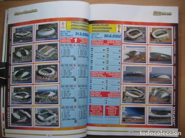 Álbum de fútbol completo: 2002 COPA DEL MUNDO - LIBRO - ALBUM MUNDIAL DE FUTBOL KOREA JAPON - PANINI - Foto 8 - 182832630