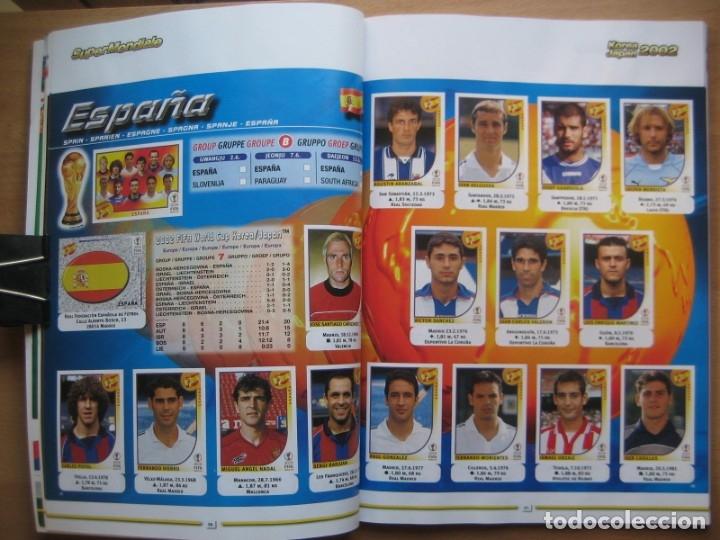 Álbum de fútbol completo: 2002 COPA DEL MUNDO - LIBRO - ALBUM MUNDIAL DE FUTBOL KOREA JAPON - PANINI - Foto 9 - 182832630