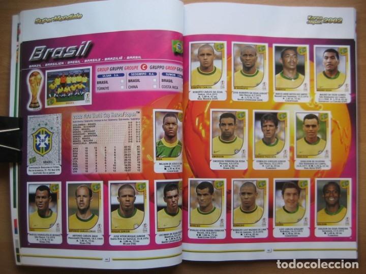 Álbum de fútbol completo: 2002 COPA DEL MUNDO - LIBRO - ALBUM MUNDIAL DE FUTBOL KOREA JAPON - PANINI - Foto 10 - 182832630