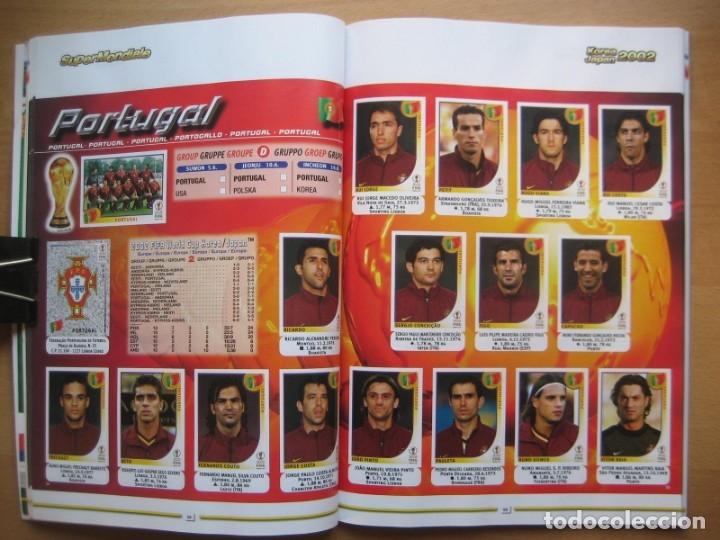 Álbum de fútbol completo: 2002 COPA DEL MUNDO - LIBRO - ALBUM MUNDIAL DE FUTBOL KOREA JAPON - PANINI - Foto 11 - 182832630
