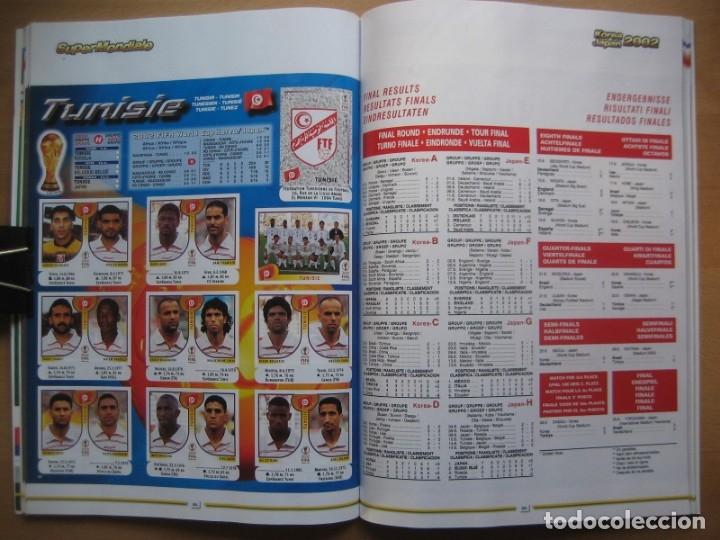 Álbum de fútbol completo: 2002 COPA DEL MUNDO - LIBRO - ALBUM MUNDIAL DE FUTBOL KOREA JAPON - PANINI - Foto 13 - 182832630
