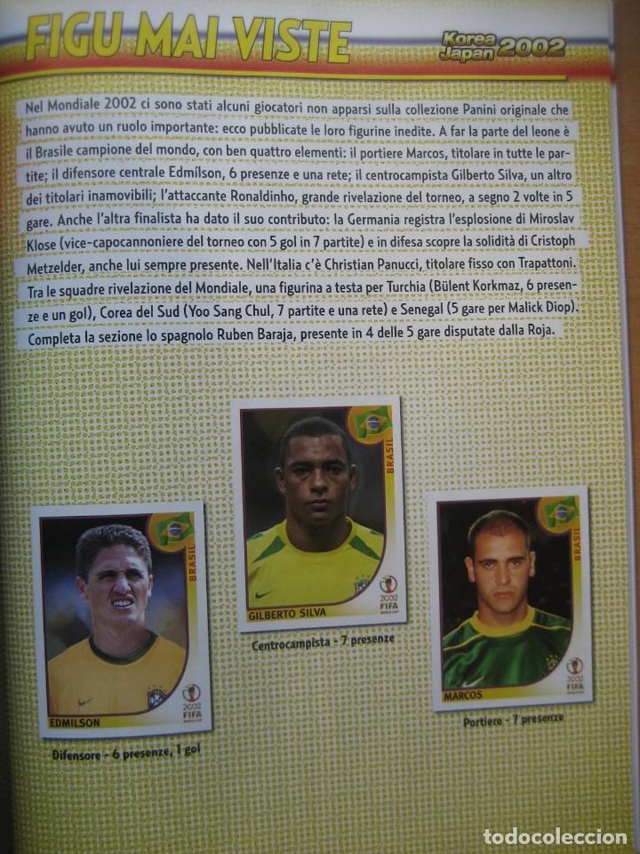 Álbum de fútbol completo: 2002 COPA DEL MUNDO - LIBRO - ALBUM MUNDIAL DE FUTBOL KOREA JAPON - PANINI - Foto 14 - 182832630