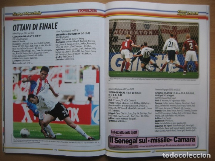 Álbum de fútbol completo: 2002 COPA DEL MUNDO - LIBRO - ALBUM MUNDIAL DE FUTBOL KOREA JAPON - PANINI - Foto 18 - 182832630