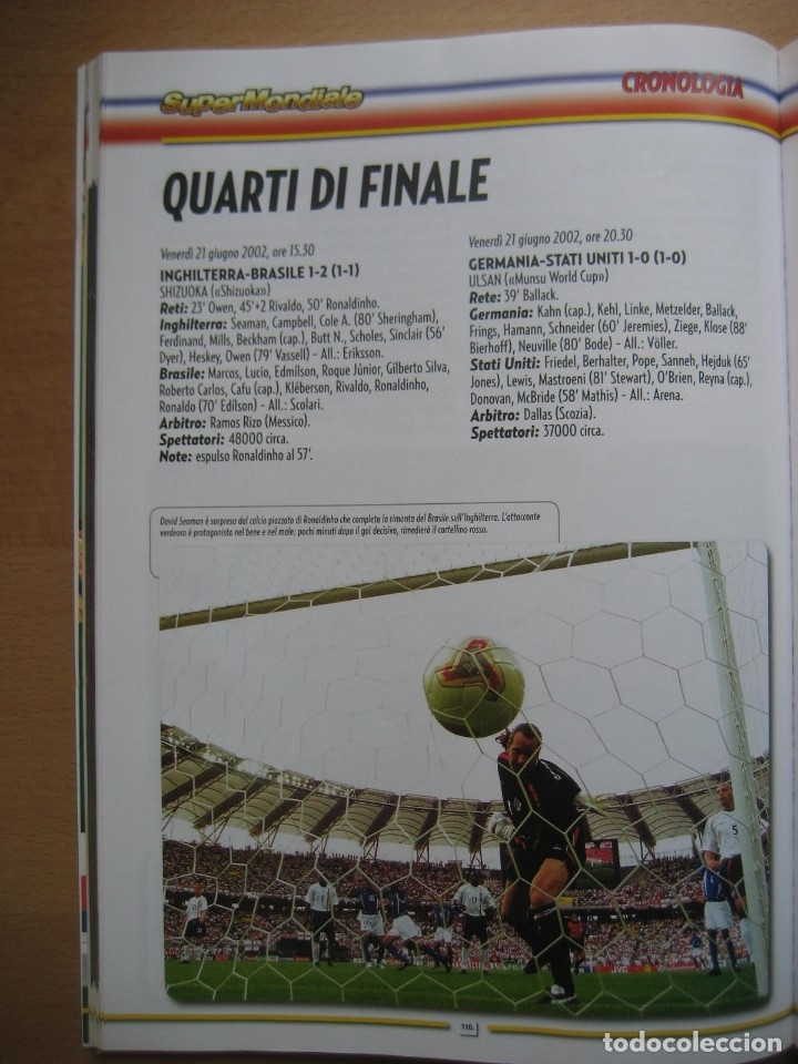Álbum de fútbol completo: 2002 COPA DEL MUNDO - LIBRO - ALBUM MUNDIAL DE FUTBOL KOREA JAPON - PANINI - Foto 20 - 182832630