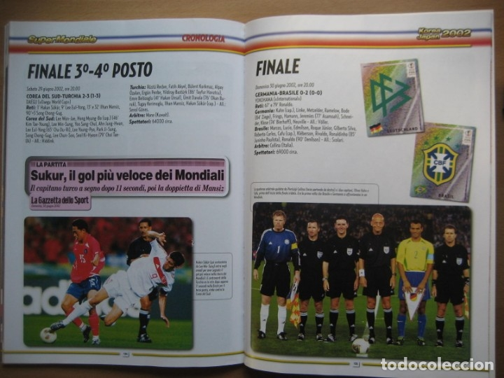 Álbum de fútbol completo: 2002 COPA DEL MUNDO - LIBRO - ALBUM MUNDIAL DE FUTBOL KOREA JAPON - PANINI - Foto 23 - 182832630