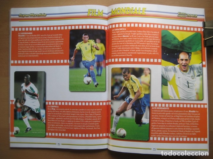 Álbum de fútbol completo: 2002 COPA DEL MUNDO - LIBRO - ALBUM MUNDIAL DE FUTBOL KOREA JAPON - PANINI - Foto 25 - 182832630