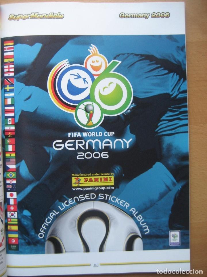 2006 COPA DEL MUNDO - LIBRO - ALBUM MUNDIAL DE FUTBOL ALEMANIA 2006 - PANINI (Coleccionismo Deportivo - Álbumes y Cromos de Deportes - Álbumes de Fútbol Completos)