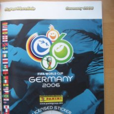 Álbum de fútbol completo: 2006 COPA DEL MUNDO - LIBRO - ALBUM MUNDIAL DE FUTBOL ALEMANIA 2006 - PANINI. Lote 182833536