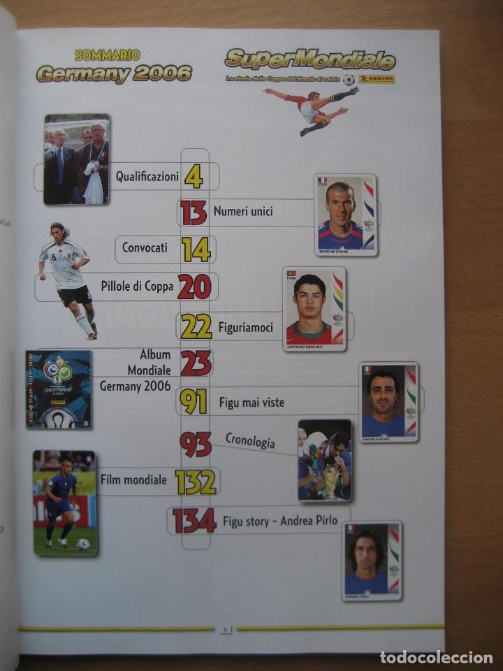Álbum de fútbol completo: 2006 COPA DEL MUNDO - LIBRO - ALBUM MUNDIAL DE FUTBOL ALEMANIA 2006 - PANINI - Foto 2 - 182833536