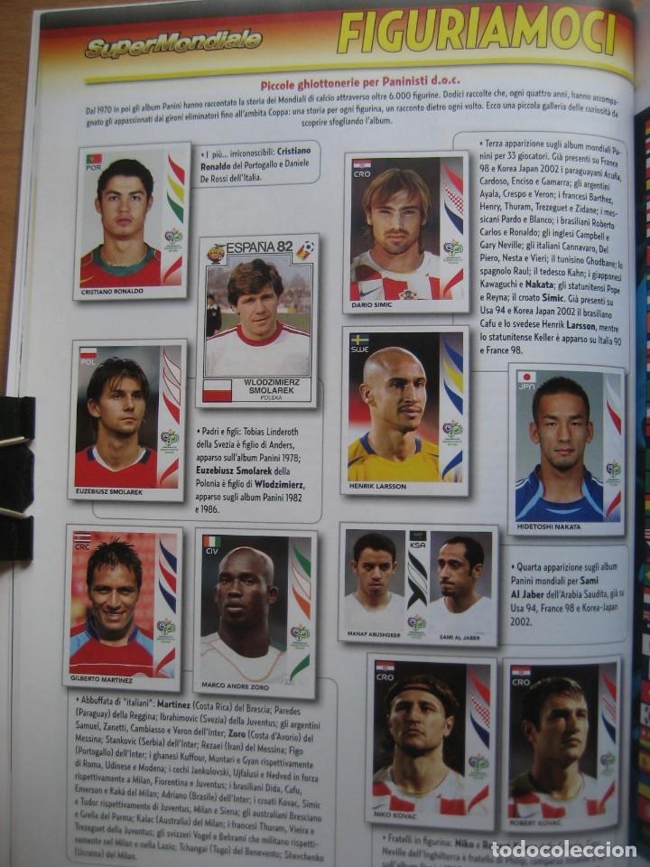 Álbum de fútbol completo: 2006 COPA DEL MUNDO - LIBRO - ALBUM MUNDIAL DE FUTBOL ALEMANIA 2006 - PANINI - Foto 6 - 182833536